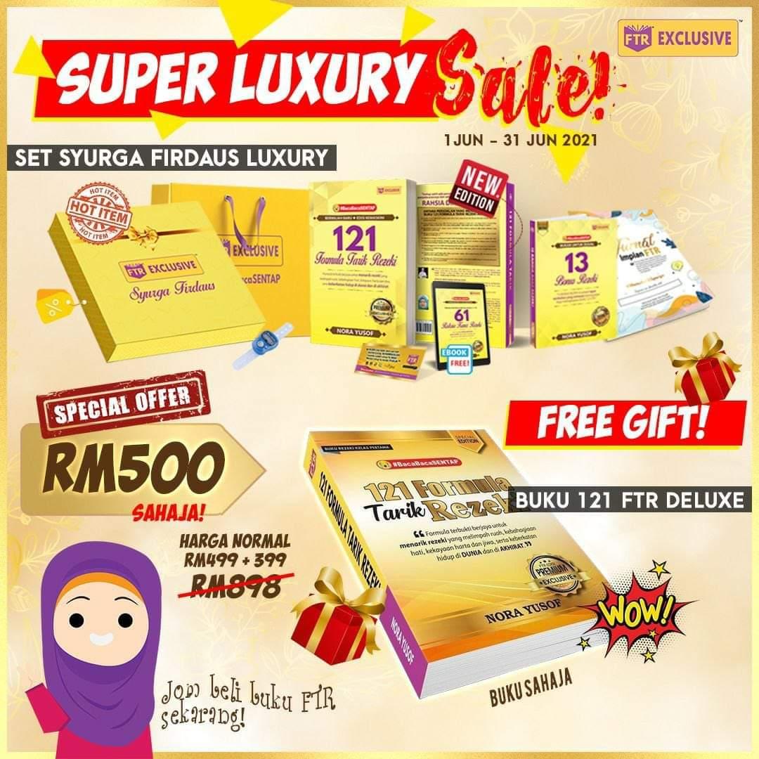 luxury sale