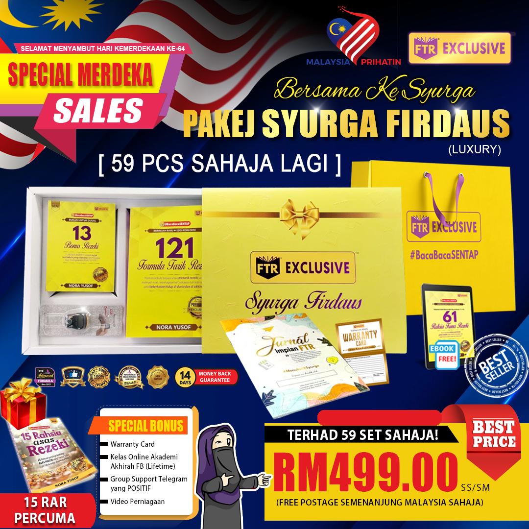 Set Pakej Firdaus Luxury_Special Merdeka Sales